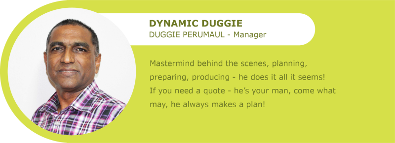 Meet the team-1. Duggie